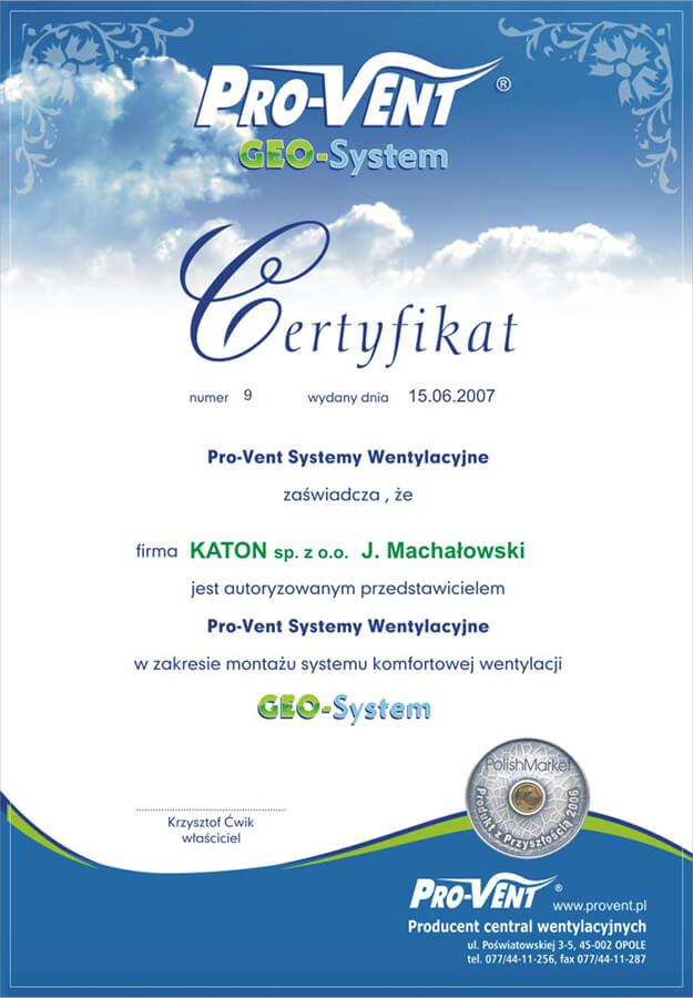 katon-certyfikat-geo-system