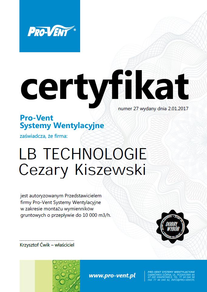 lbtechnologie-certyfikat-gwc