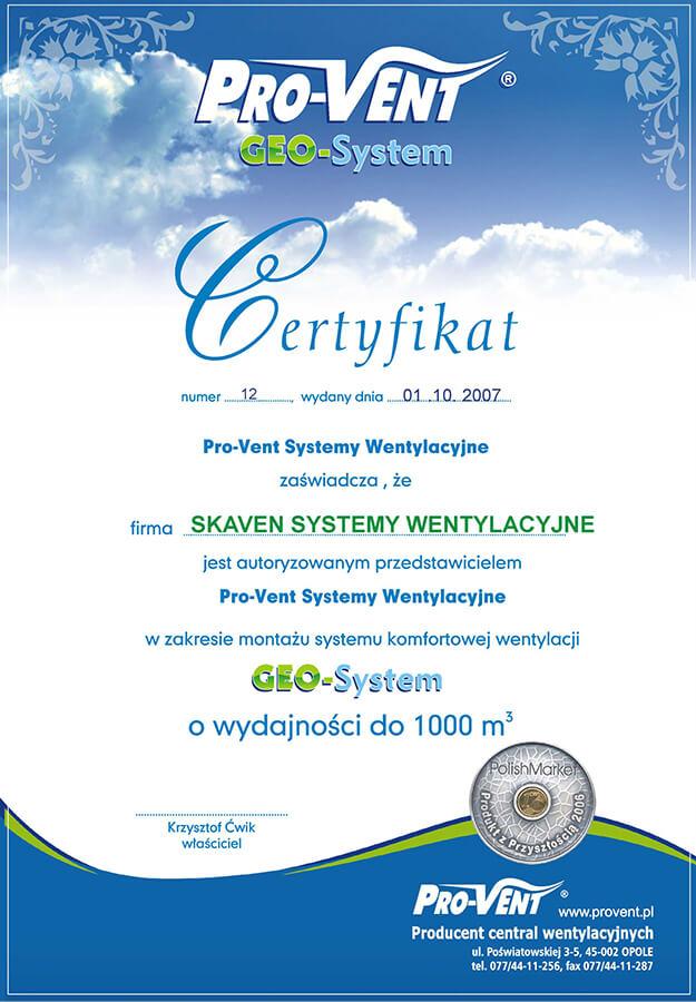 skaven-certyfikat-geo-system